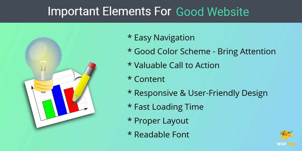 Important Elements for Good Website
